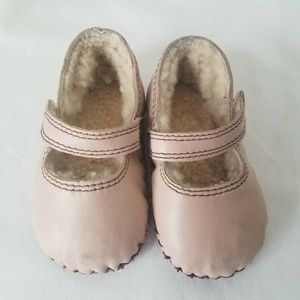 UGG Australia Honey B Shoes Beige S 6-12 Infant Gi